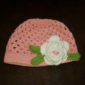 Other - Handmade, toddler girls hat